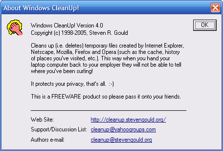 Windows Cleanup 4.5.2 Free